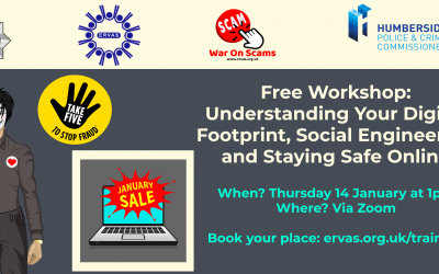 Your Digital Footprint, Social Engineering and Staying Safe Online Webinar