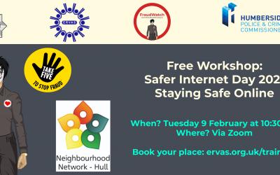 Safer Internet Day 2021: Staying Safe Online Webinar