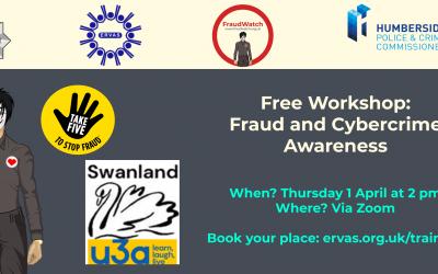 Fraud & Cyber Awareness Webinar – Swanland U3A