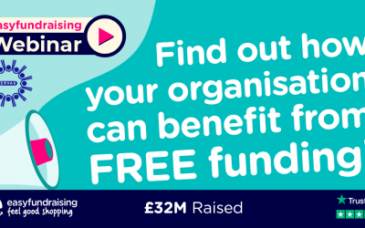 Fundraising for your charity with easyfundraising